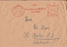 ! 1946 Freistempler Falkensee , Freistempel - Sowjetische Zone (SBZ)