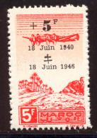 Maroc PA 1946 Yvert 58 ** TB - Marruecos (1891-1956)
