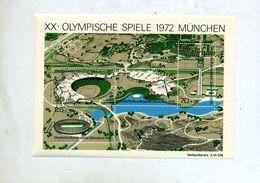 Bloc Jeu Olympique Munich 1972 - Blokken