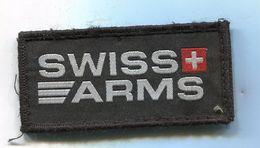 X53A PATCH ECUSSON TISSUS TIR SHOTING SWISS ARMS SUISSE SUR VELCRO - Ecussons Tissu
