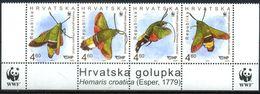 Croatia 2012 WWF, Fauna, Insects, Butterflies, Moths - Schmetterlinge