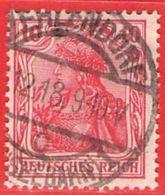 MiNr.86II.c O Deutschland Deutsches Reich - Usados