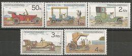 CSR 1986 CARS, CZECH REPUBLIK, 1 X 5v, MNH - Autos