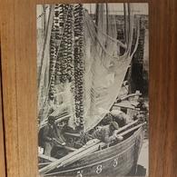Concarneau.bateau Sardinier.à La Soupe.pêcheurs De Sardine.édition GID - Concarneau