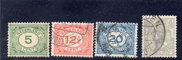 PAYS BAS 1921-3 O - Oblitérés