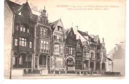 Middelkerke-1907-Villa Les Tilleuls à Gauche+Villas: Baudouin,Rust,Hippolyte,Atala,Fougères,Les Etoiles,Roseaux,Diane... - Middelkerke