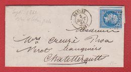 Lettre / De Nantes / Pour Châtellerault  / 5 Septembre 1861 - 1849-1876: Klassieke Periode