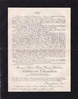 ALLIGNY En MERVAN Pierre PELLETIER De CHAMBURE 53 Ans 1924 Médaille Du Maroc Mort Maladie Contractée Au Maroc - Décès