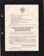 BOESCHEPE-ABEELE Pierre-François DEGROOTE Bailleul 1856 L'ABEELE 1920 Secours Mutuels Conseiller Municipal LEURIDAN - Décès