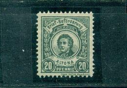Stadtpost Altona, Brief-Beförderung, Nr. 9 Falz * - Hamburg