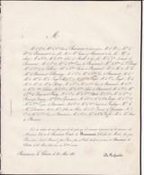 BEAUMONT LA CHARTRE Jules De BONNINIERE Comte De BEAUMONT Chevalier Ordre De MALTE 75 Ans 1851 - Décès