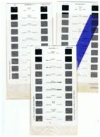 Lot De 3 Plaquettes De 10 Vues Stéréoscopiques Pour Appareil Lestrade - Carcassonne N° 1 à 3 +/- 1960 - Visionneuses Stéréoscopiques