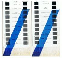 Lot De 2 Plaquettes De 10 Vues Stéréoscopiques Pour Appareil Lestrade - Le Puy En Velay N° 1 Et 2 +/- 1960 - Visionneuses Stéréoscopiques