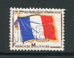 FRANCE- Franchise Militaire Y&T N°13- Oblitéré - Franquicia Militar (Sellos)