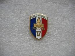 Pin's De La Police Nationale Du V Eme Arrondissement De PARIS - Police