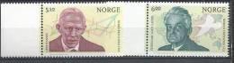 Norvège,  2004  N°1459/1460  Neufs**, Prix Nobel Norvégiens - Norway