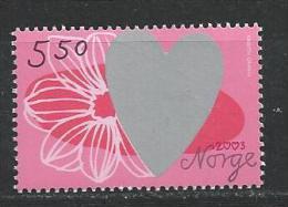 Norvège,  2003  N°1404  Neuf**, Saint Valentin - Noruega