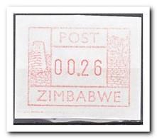 Zimbabwe 1985, Postfris MNH, Automatenmarke - Zimbabwe (1980-...)