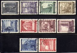 Österreich/Austria 1948 Mi 858-867 Gestempelt [180218LAIII] - 1945-60 Used