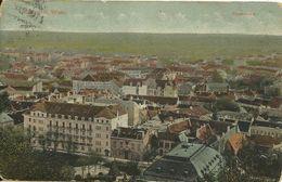 AK Wien Blick über Dächer + Hotel-Werbung Color 1912 # - Wien