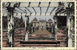 LIEGE : La Roseraie - Liege