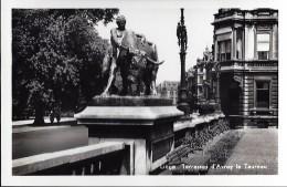 LIEGE : Les Terrasses D'Avroy Et Le Taureau - Luik
