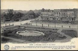 LIEGE : Les Terrasses D'Avroy Et Rue Lebeau - Luik