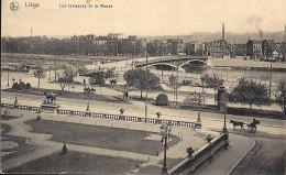 LIEGE : Les Terrasses D'Avroy Et La Meuse - Liege