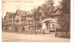 Spa (Pr. De Liège)-1932- Hôtel Balmoral-La Façade Principale-edit. Nels -Thill - Spa