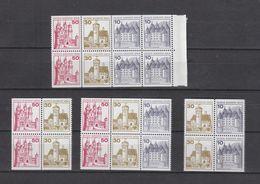Deutschland Berlin West  **  W61-W66 Heft Blatt  18 Burgen Und Schlösser Katalog 33,80 - [5] Berlin