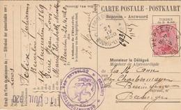 Heppen-Leopoldsburg -Beverloo -Demande D'affiliation à La Caisse De Retraite -relais Heppen 1920 - Leopoldsburg