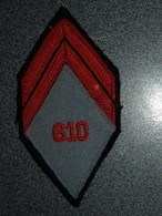 ECUSSON  ARMEE FRANCAISE  610 - Patches