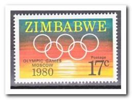 Zimbabwe 1980, Postfris MNH, Olympic Games - Zimbabwe (1980-...)