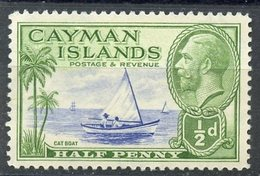 Cayman Islands 1935 1/2p Catboat Issue  #86 - Iles Caïmans