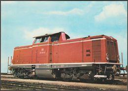 Baureihe 211 (V 100) Einmotorige 1100-PS- Oder 1350-PS-Lok - Redactor AK - Trains