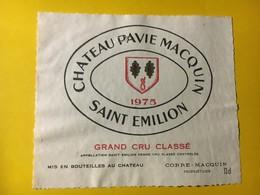 6934 - Château Pavie Macquin 1975 Saint Emilion - Bordeaux