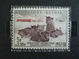 Timbres Belgique : Expedition Antartique Belge 1957 COB N° 1030 ** - Belgique