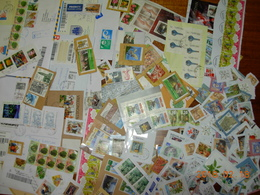 Worldwide Covers And Stamps On Paper - Stamps