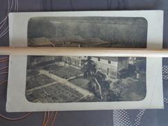 MILITARIA  GUERRE 14/18 POILU CARTE PHOTO MAISON FERME LIEU A IDENTIFIER   PAUL DUVIVIER DOMAINE DU GIROUET - Weltkrieg 1914-18