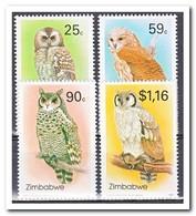 Zimbabwe 1993, Postfris MNH, Owls - Zimbabwe (1980-...)
