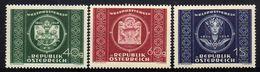 Österreich/Austria 1949 Mi 943-945 ** [180218LAIII] - 1945-60 Unused Stamps
