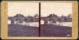 London, Stereofoto, Kingstone Bridge, Um 1900 - London