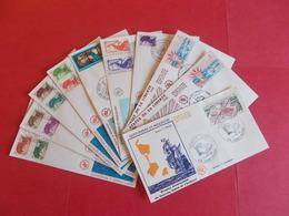 SAINT PIERRE ET MIQUELON  1 Lot D'enveloppes 1er Jours De L' Année 1986 - Stamps