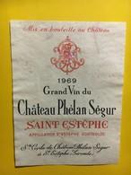 6948 -  Château Phélan Ségur 1969 Saint-Estèphe (réparée) - Bordeaux