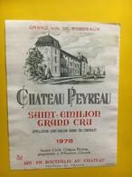 6949 -  Château Peyreau 1978 Saint-Emilion - Bordeaux
