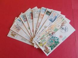 SAINT PIERRE ET MIQUELON  1 Lot D'enveloppes 1er Jours De L' Année 1987 - Stamps
