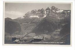 19328 - Champéry Paysage Et Dents Du Midi Chalets - VS Valais