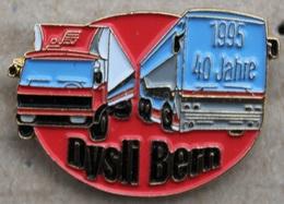 CAMION - BUS - TRANSPORT PUBLIC - CAR - DYSLI BERN - SCHWEIZ - BERNE - SUISSE - SWISS BUS - 1995 - 40 JAHRE - ANS - (12) - Trasporti