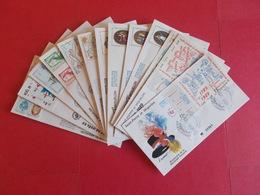 SAINT PIERRE ET MIQUELON  1 Lot D'enveloppes 1er Jours De L' Année 1989 - Stamps