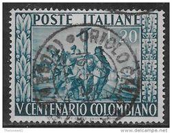 Italia Italy 1951 Colombo Sa N.660 US - 6. 1946-.. Repubblica